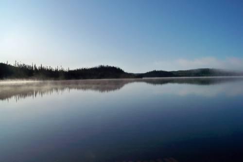 Lever de soleil Lac Crevet