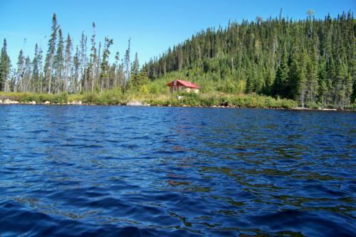Chalet vu du Lac Crevet