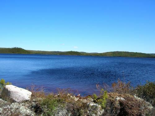 Frisson sur le lac Crevet