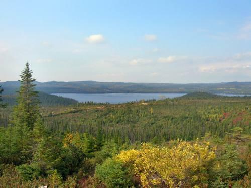 Paysage aux abords du Lac Crevet