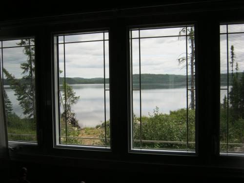 Vue sur le lac Crevet