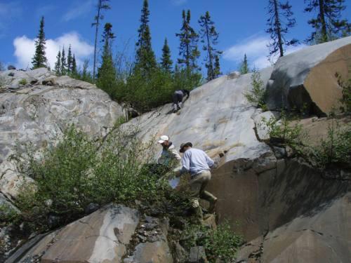 Exploration des roches